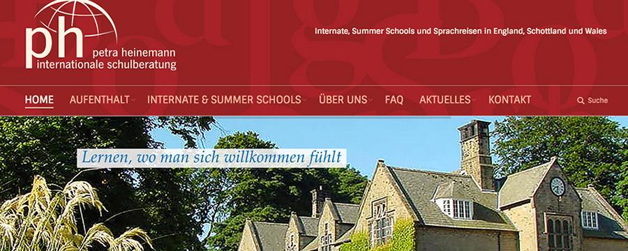 Heinemann internationale Schulberatung – petra heinemann internationale schulberatung mit neuer Internetseite