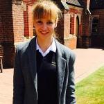 Katrin Riesner war ein Jahr im Ardingly College