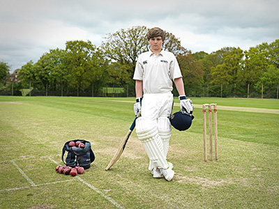 Heinemann internationale Schulberatung – Cricketspieler der Bedes School
