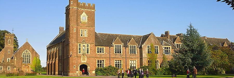 Heinemann internationale Schulberatung – Schulgebäude des englischen Internats Blundell´s School