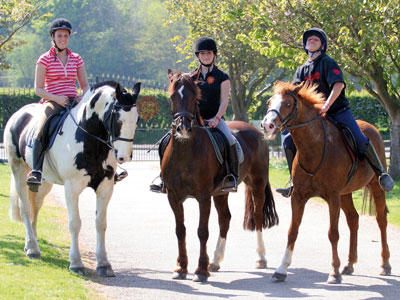 Heinemann internationale Schulberatung – Reiten in Buckswood