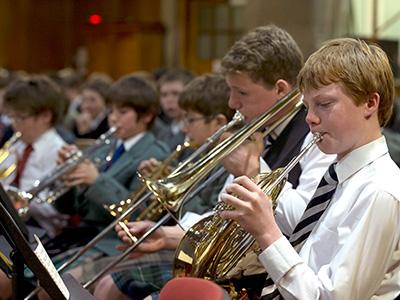 Heinemann internationale Schulberatung – Orchester der Merchiston Castle School