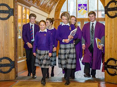 Heinemann internationale Schulberatung – Schüler des Ellesmere College