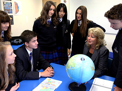 Heinemann internationale Schulbertung – Geografie-Unterricht in England